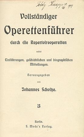 Titulní list jedné z knih v jeho vlastnictví, kterou jako dvacetiletý označil svým podpisem
