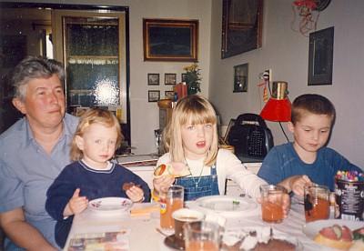 Renata Pekařová po letech se svými 3 dětmi