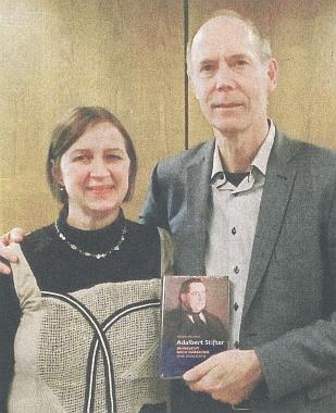 S Peterem Becherem při prezentaci jeho knihy o Adalbertu Stifterovi
