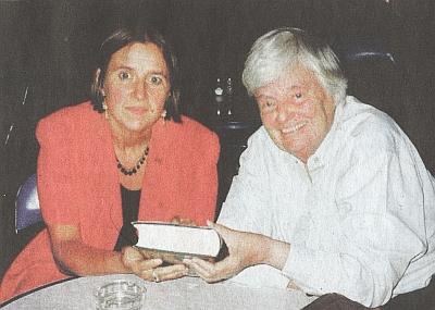 S Johannou von Herzogenbergovou v roce 2000