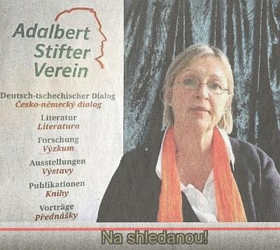 """Rozloučila se se Sdružením Adalbert Stifter Verein prezentací ženských autorek v jejich literárním zpracování """"odsunu"""""""