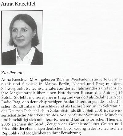 Její medailon v knize o Hildě Bergmannové