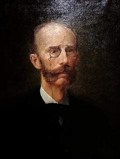 Portrét a bysta JUDr. Johanna Kneissla mladšího