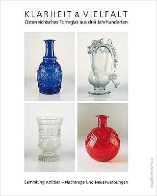 Obálky dvou dílů katalogu sklářských forem z jeho soukromé sbírky (2016 a 2018, Verlag Bibliothek der Provinz, Weitra)