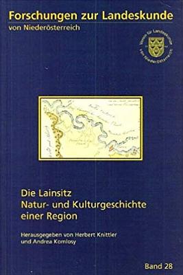 Obálka jeho knihy o Lužnici (1997, Verein für Landeskunde vonNiederösterreich)
