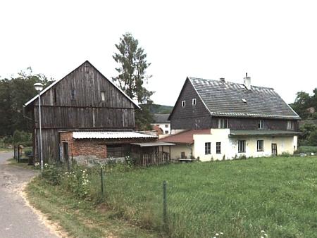 Takto dnes vypadá rodný dům čp. 71 v Markvarticích