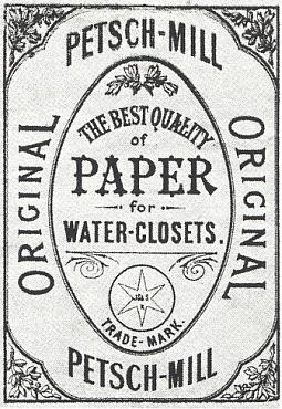 Už z dávna byl Pečkovský mlýn znám vesvětě třeba svým toaletním papírem