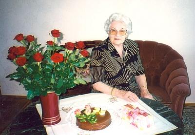 Jeho žena Magda o svých pětasedmdesátinách