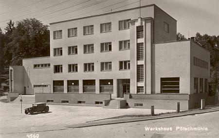 """Reprezentační budova papíren zv. """"Werkshaus"""""""