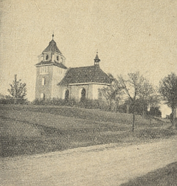 Kaple Panny Marie Lurdské v Horšovském Týně, zničená údajně jako cíl jednoho vojenského cvičení vroce 1955