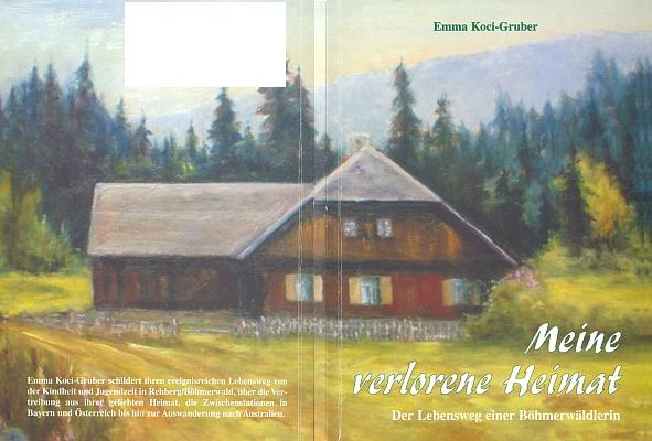 Papírová vazba její knihy, vydané nakladatelstvím Ohetaler Verlag v roce 2007, zobrazuje rodný dům