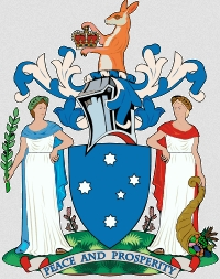 Znak australského státu Victoria