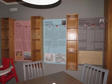 V myslivně na Březníku, která slouží jako restaurace s historickou expozicí a informačním centrem je mu věnován jeden ze stolů