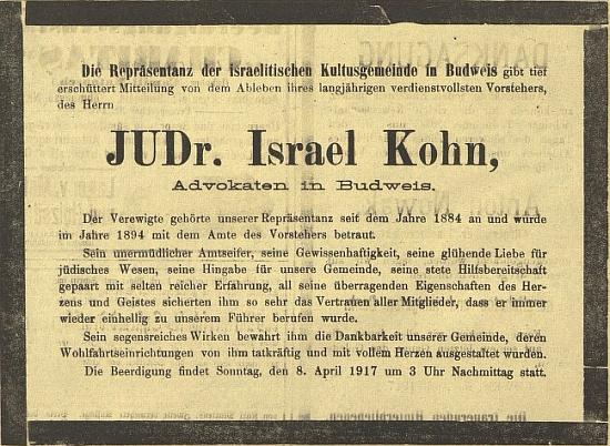 """Parte v """"Budweiser Zeitung"""""""