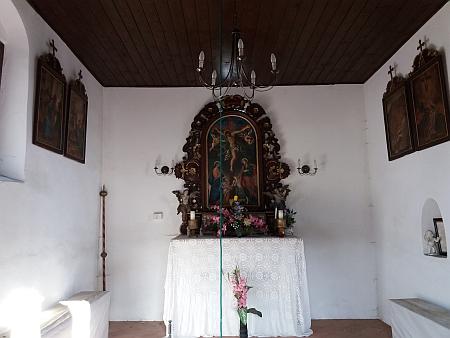 Návesní kaple v Záboří