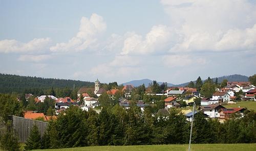Haidmühle, kde strávil závěr života