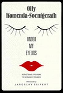 Obálka (1994) anglického vydání její sbírky s úvodním slovem Jaroslava Seiferta v nakladatelství Forest Books London-Boston