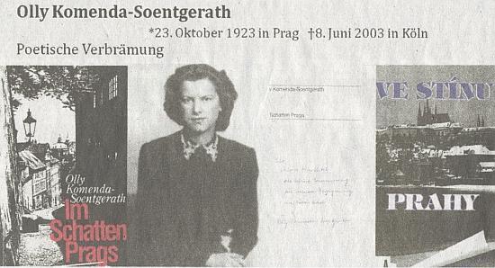 Její prezentace mezi autorkami vyznamenanými krajanským sdružením, jak ji připravila Anna Knechtelová