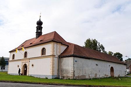 Poutní kostel Panny Marie Loretánské v Boru u Tachova