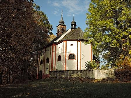 Kostel svatého Wolfganga v Zelené Lhotě