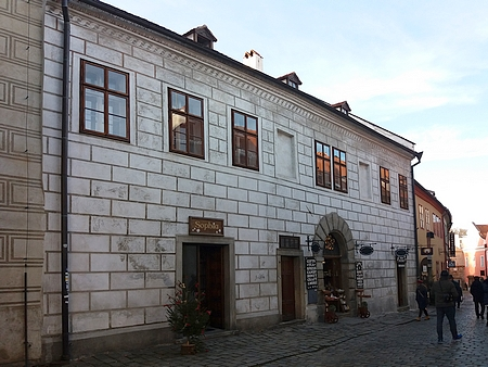 Rodný dům čp. 66 na českokrumlovském Latráně