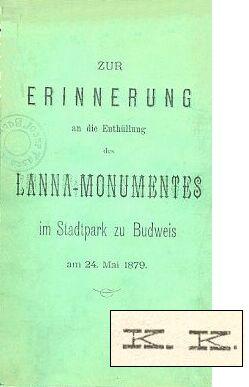 Obálka (1879) a autorské iniciály z téže knihy