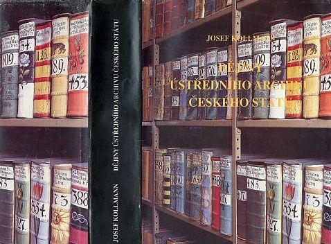 Kniha s nejpodrobnější informací o něm - obálka (1992, Archivní správa ministerstva vnitra České republiky, Praha)