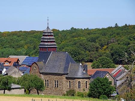 Kostel sv. Agáty v Bongardu