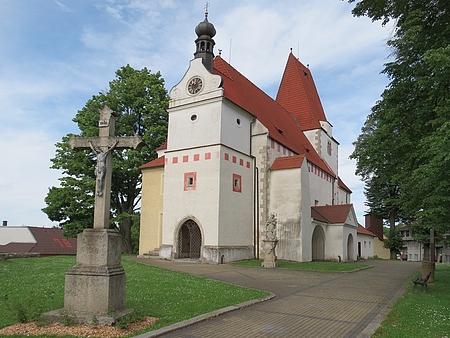 Kostel sv. Mikuláše v Horní Stropnici (2013)