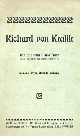Třetí vydání (1905) jiné knihy o něm z fondu Jihočeské vědecké knihovny
