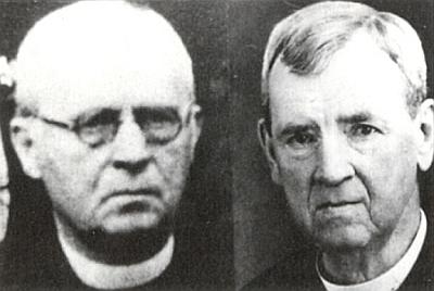 Oba bratři Kramlerové: vlevo Karl, vpravo Johann