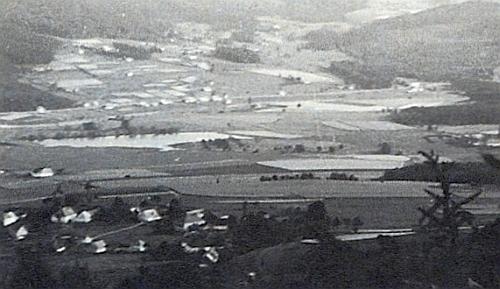 Nové Domky na snímku z roku 1946
