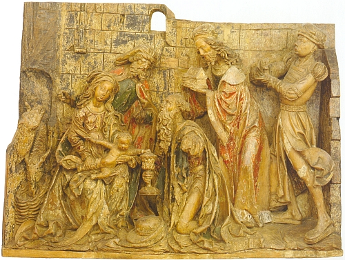 V majetku písaře Illinga, jemuž se v Heimatbuchu vyjadřuje poděkování jako jednomu z kronikářů města, byl v19.století tento skvostný reliéf Klanění Tří králů, který zakoupilo v roce 1910 budějovické muzeum (dnes je součástí sbírek Alšovy jihočeské galerie)