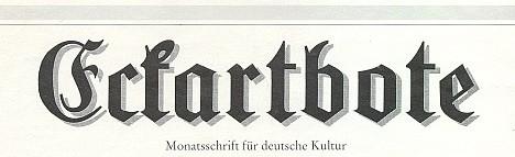 Záhlaví časopisu, kde otiskl v prosinci 1994 svůj text