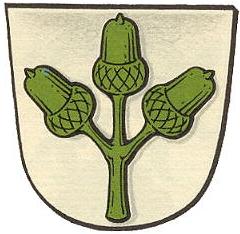 Znak Frankenhausen, části hesenské obce Mühltal