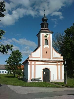 Kaple v Radošovicích