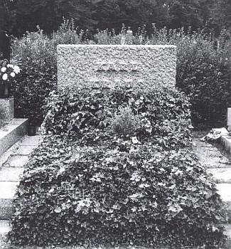 Hrob Karla Krause na videňském Ústředním hřbitově