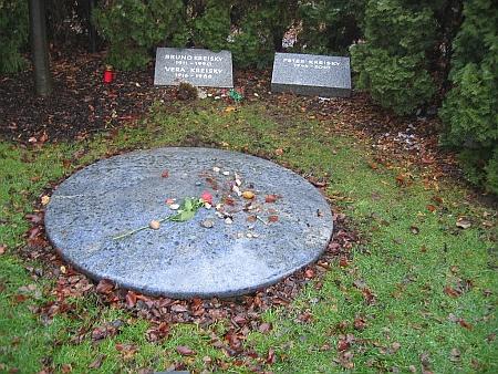 Hrob na vídeňském ústředním hřbitově