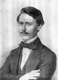 Jeho portrét z roku 1862, tedy dva roky poté, co vyšla ona proslulá německy psaná monografieŠumavy