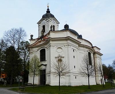 Kostel Panny Marie Bolestné v Dobré Vodě