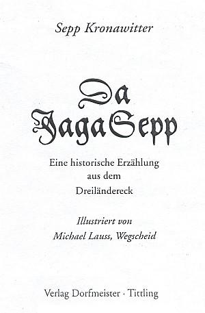 Titulní list (1994) knihy vydané nakladatelstvím Dorfmeister, Tittling