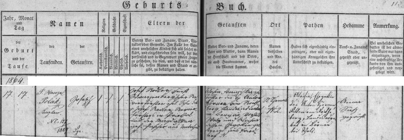 """Alfredův bratr Josef (psáno Joseph) Rodler se podle záznamu v křestní matrice zaniklé farní obce Rychnůvek narodil veSvatém Tomáši čp. 2 17. září roku 1864 a byl téhož dne v kostele sv. Václava v Rychnůvku (tehdy ovšem zvaném Německý Rychnov u Frymburka) i pokřtěn - po matčině otci získal později šlechtický titul """"von Roithberg"""""""
