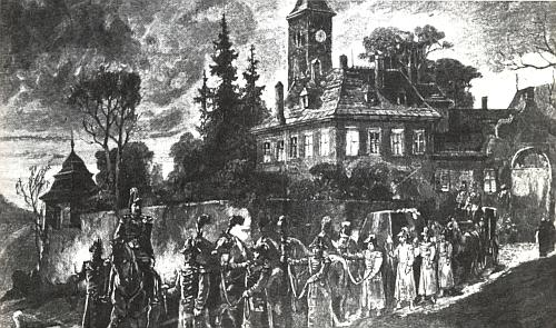 Noční převoz Rudolfových ostatků z Mayerlingu do Vídně