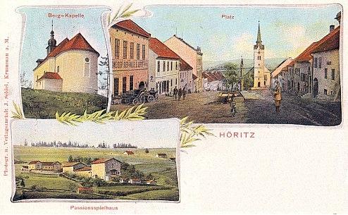 Hořice na Šumavě, pohlednice