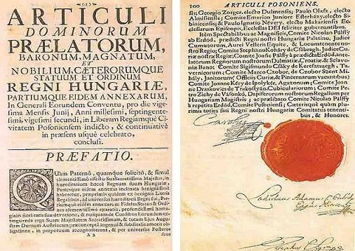 Listina Karla VI. o nedělitelnosti habsburské říše z roku 1713 (pragmatická sankce), na níž se odvolává i rakousko-uherské vyrovnání v roce 1867