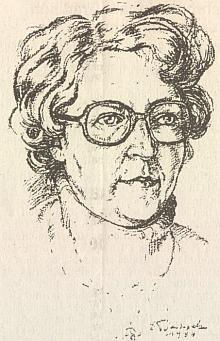 Na kresbě, pod níž je podepsán Erwin Bartussek