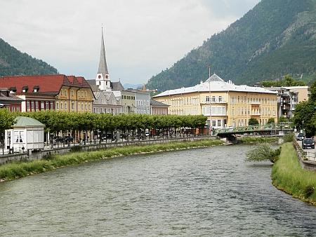 Bad Ischl, kde 22 let žil a kde je pochován
