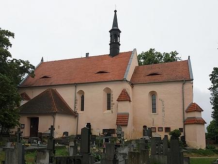 Kostel svatého Jakuba Většího v Čížové