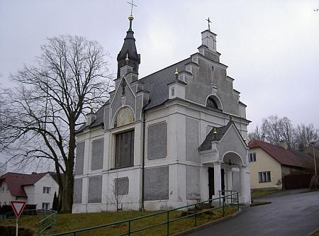 Kaple svatého Jakuba v rodném Postřekově