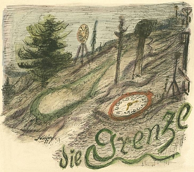 Kresba Hranice z roku 1951